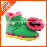 short wool winter boots for women