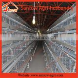 automatic broiler raising cage / broiler battery cage / chicken breeder cages cheap sale