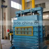 Waste tire compress baler machine