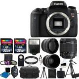 Canon EOS Rebel T6s DSLR CMOS Digital SLR Camera and DIGIC Imaging with EF-S 18-55mm f/3.5-5.6 IS STM Lens