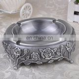 Oval metal ashtray/high quality metal ashtray/metal standing ashtray
