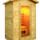 2 person indoor far infrared sauna room family couple's sauna