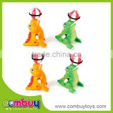 High quality cheap plastic cartoon crocodile set wind-up toys