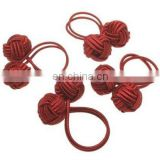Knotted Rayon Napkin Ring