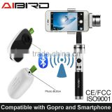 3-axis wireless control Stabilizer for Iphone and Go pro
