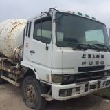8cbm used Second hand fuso mixer truck