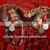 Gothic Tribal Coin Bra