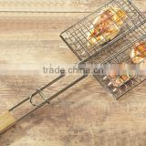 Wooden handel barbecue holder /BBQ Tools