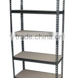Steel Storage Rack, 5 Adjustable Shelves