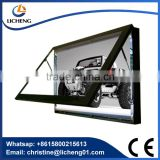 Direct Manufacturer!!!!! stylish aluminum wall-mounted cinematic light box for multiplexes