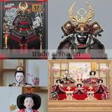 Handcrafted and Japanese tradition Hina Ningyo/Gogatsu Ningyo Doll with useful made in Japan