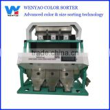 Imported parts 3 chute Color CCD camera calcium carbonate color sorting/selecting machine