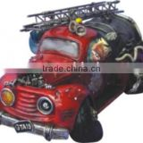 Retro Polyresin Car Model Toy for Decoration
