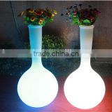 popular indoor and outdoor led flower vase light
