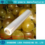 Wholesale transparent PE tray packaging stretch film roll