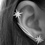 Fashion Jewelry Universal starburst earring