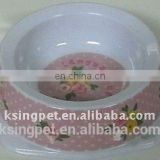melamine pet bowl plastic bowl