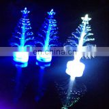 Promotional Gifts Fiber Optic led Mini Christmas Tree color changing