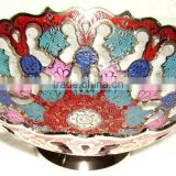 Enameled Fruit Bowls,Arabian Dishes,Brass Arabian Dish,Arabian Dish,Arabian Dish,Arabian Enameled Katora,Arabian Item