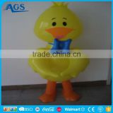 promotional customized pvc inflatable duck