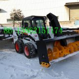 skid loader snow blower snow thrower