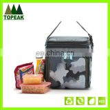 Best quality Nylon cooler bag with two zipper