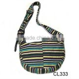 2012 trendy good promotion <b>handmade</b> <b>fabric</b> handbag