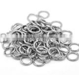 Round Stainless Steel Open Jump Rings Connectors DIY Jewelry Findings