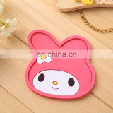 Cute cartoon shaped soft rubber pot holder