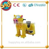 HI CE wholesale funny plush animal <b>electric</b> <b>scooter</b> <b>toy</b> for kids