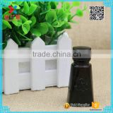 2016 Trapezoid shape black full light shading dropper bottle 15ml essention oil                                                                                                         Supplier's Choice