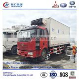 FAW J6 4*2 type 5m~6m refrigerator cooling van for sale