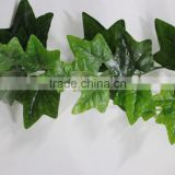 SJZJN 2548 Home Garden Wall Decoration Fake Hanging Vine Plant Leaves Artificial Green ivy