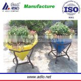 Outdoor garden flower large plastic planters / flower vases