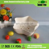 hot selling plastic fruit basket with tray