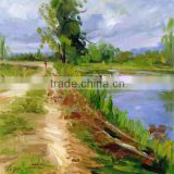 <b>oil</b> painting <b>landscape</b> for home