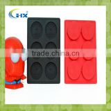 Wholesale Wholesale Fancy Personalized Shaped Custom Christmas Silicone Ice Cube Tray