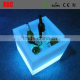 Wholesale High Clear LED Ice Bucket traditional champagne plastic ice bucket