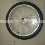 Alloy rim spoke wheel