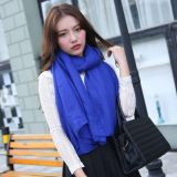 Single Color Spring Autumn Women Scarf Shawl Wholesale