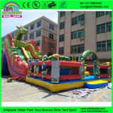 New style inflatable bounce house 0.55mmPVC dragon fun city giant inflatable slides for sale
