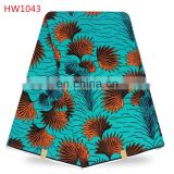 Cotton wax fabric african wax printing clothes fabric for african market