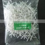 Crisscross shape construction use Plastic tile spacers,plastic tile spacer