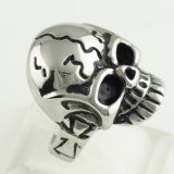 Skull Ring Harley Davidson Jewelry 316L Stainless Steel Ring For Man
