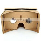 3D virtual reality viewer google cardboard headset vr headset glass 3d google glass factory directly custom logo printing VR006