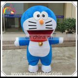 Hot selling Doreaemon mascot costume, fur cartoon costume for adult