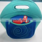 GR-W0070 fashional insulated neoprene lunch bag for kids