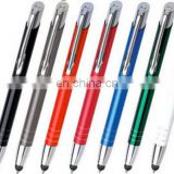Promotional gift Promotional Personalised Laser Engraved Metal Ballpoint Touch Pens AP003