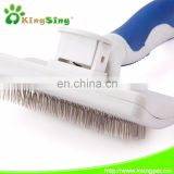 New Medium Self-cleaning Soft dog slicker brush for pets