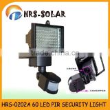 Hot sale solar power 60 led solar light led flood light